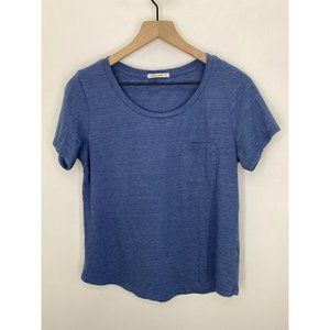 Marine Layer Scoop-Neck Short Sleeve Tee Shirt M